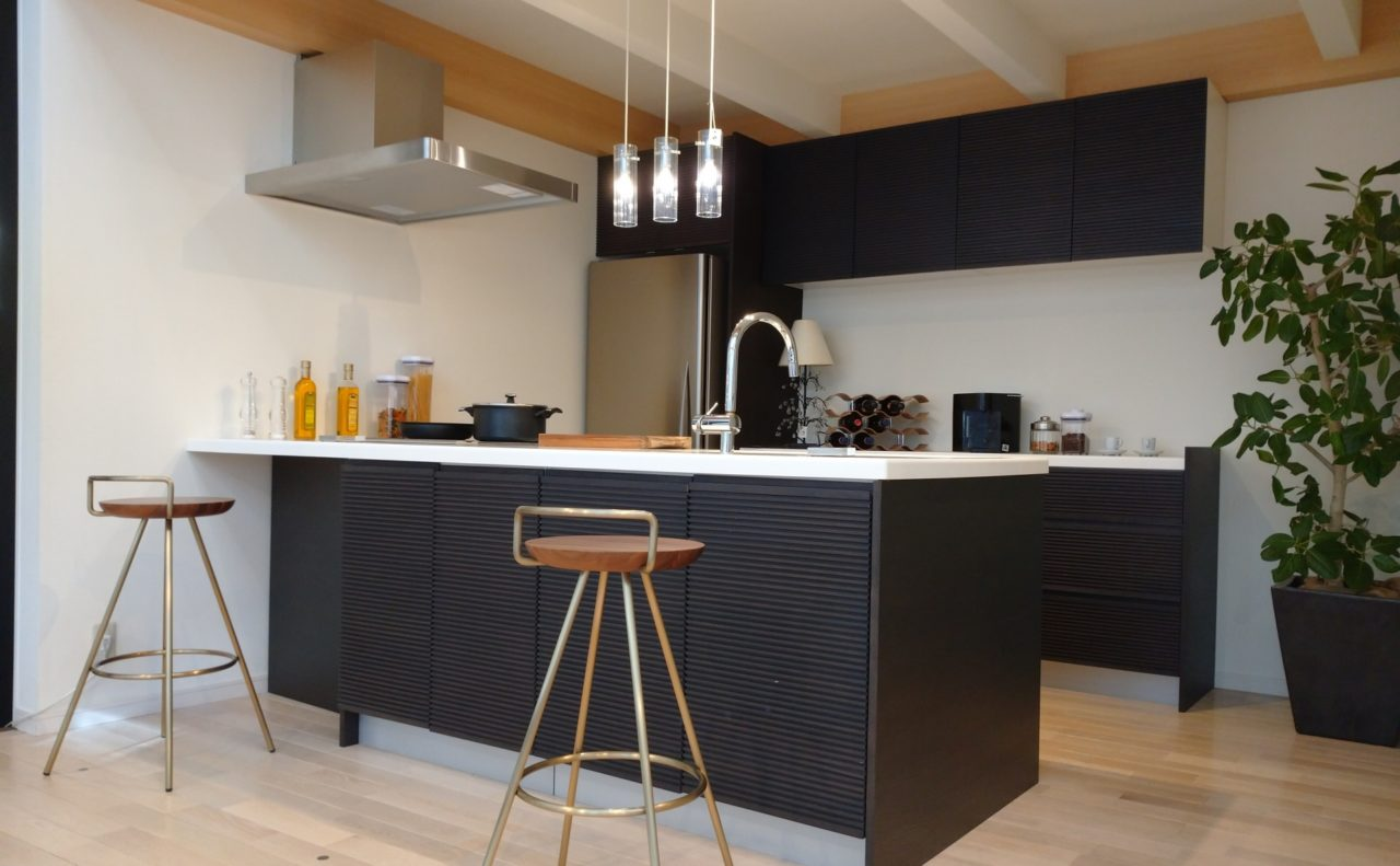 新築キッチン